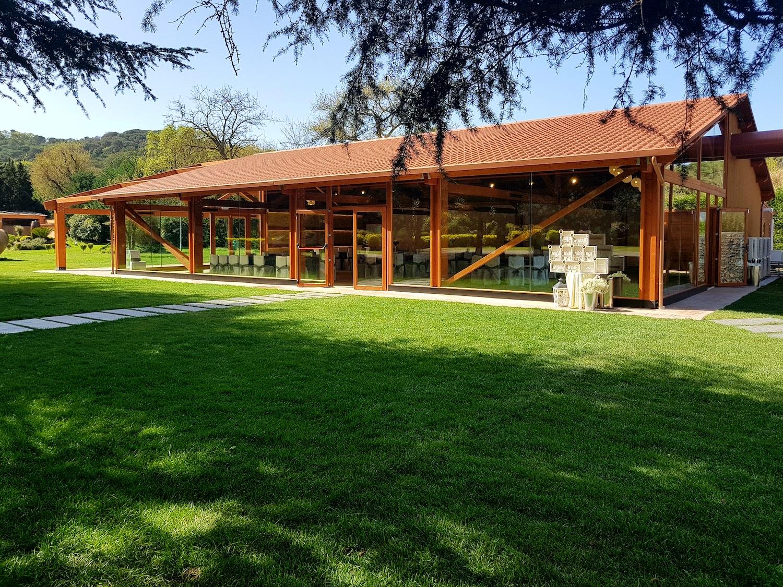 Nuevo salon porche ámplio cerca de Barcelona - Miravent Bodas
