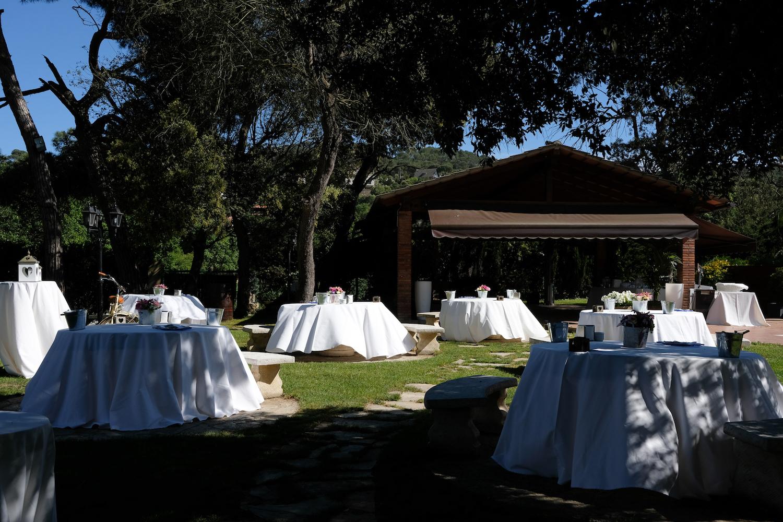 Aperitivos para bodas al aire libre y con porche - Miravent Bodas