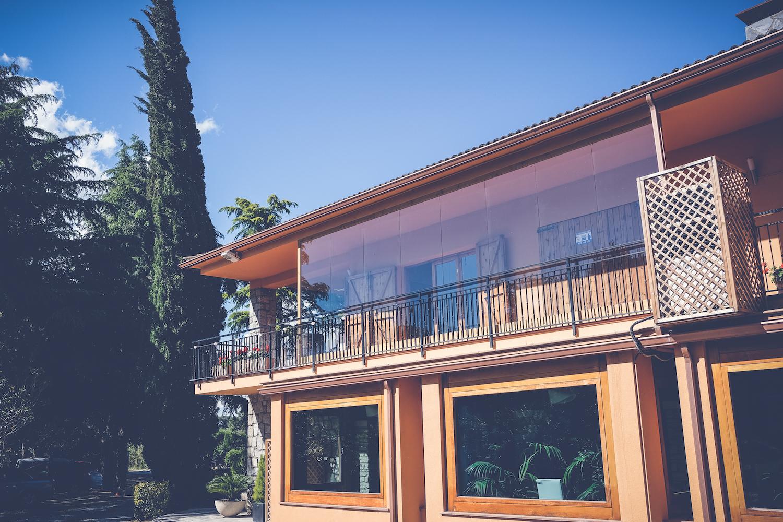 Espacio ámplio con terraza exclusiva para celebraciones - Miravent Bodas