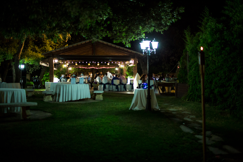 Jardín exclusivo con porche para aperitivos - Miravent Bodas