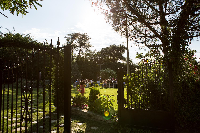 Celebración de bodas civiles al aire libre - Miravent Bodas